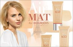 Air MAT by Bourjois, the new UNDETECTABLE matte finish foundation - recommended for oily skin Bourjois Foundation Air Mat, Mat Foundation, Bourjois Bb Cream, Follow Follow, Beauty Trends, Oily Skin, Uae, Style Guides, Beauty Women