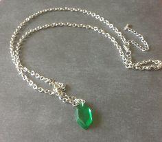 Die Legende von Zelda Rupie Halskette von OnceUponASine auf Etsy