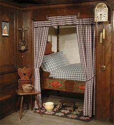 mobilier alsacien,meubles polychrome d'alsace,olmer