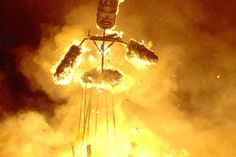 Burning Of King Momo