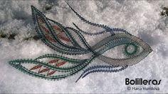 Aplicación de encaje de bolillos Pisces Constellation, Romanian Lace, Bobbin Lace Patterns, Lacemaking, Lace Heart, Point Lace, Lace Jewelry, Lace Knitting, Lace Detail
