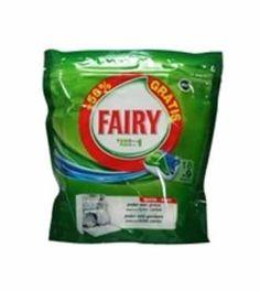 Fairy Todo en 1 lavavajillas 18+9 cápsulas todastuscompras.com
