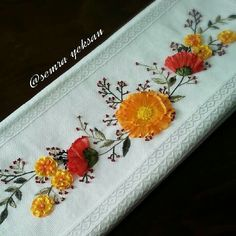 Brazilian Embroidery, Hand Applique, Ribbon Work, Silk Ribbon Embroidery, Machine Embroidery, Needlework, Burlap, Arts And Crafts, Quilts