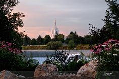 Beautiful picture of Idaho Falls Temple - on sale #clarkimaging.com