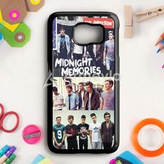 1D Midnight Memories Collage Samsung Galaxy S6 Case | armeyla.com