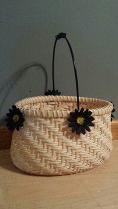 Twill basket I just finished.