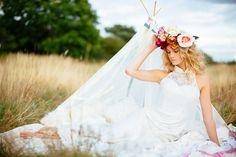A Boho, Earth Child Bridal Shoot