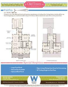 The Fairfax Floor Plan