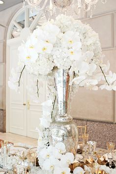 Wedding ● Flowers ● White Orchids