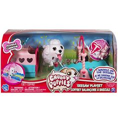 Chubby Puppies Poodle Puppy See Saw Playset Plus Carrier Little Live Pets, Little Pet Shop Toys, Little Babies, Chubby Puppies, Toy Puppies, Girl Toys Age 5, Baby Girl Toys, Girls Rolling Backpack, Baby Playpen