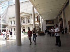 MET: Hall de las esculturas.