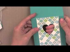 A Video by Jennifer McGuire showing how she made her card for the Simon Says Stamp August 2013 Card Kit Blog Hop.
