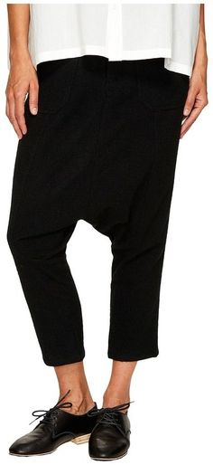 Y's by Yohji Yamamoto - Sarquel Drop Crotch Pants Women's Casual Pants