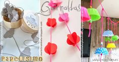 Decoración DIY Fiestas Infantiles | http://papelisimo.es/decoracion-diy-fiestas-infantiles/
