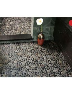 buy meshed pebble floor tile online and also buy pebble mosaic tiles pebble tile