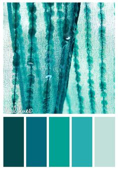 Gold On The Ceiling: Teal Hues