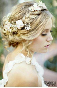 #hair #flower