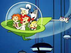 The Jetsons...one of my favorite cartoons as a kid!