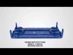 Tutorial - Lego movie style water simulation C4D/X-particles - YouTube