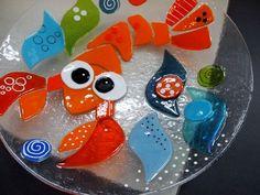 Resultado de imagen para pinterest catalogo vitrofusion platos con animales marinos