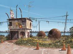 Beautiful illustrations from Swedish illustrator Simon Stalenhag at http://www.simonstalenhag.se/ ©Simon Stalenhag