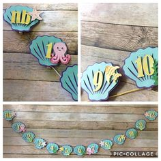 Baby Crafts, Turquoise Necklace, Banner, Mermaid, Stripes, Mesh, Blouse, Instagram, Colors