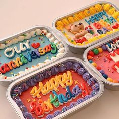Pretty Birthday Cakes, Pretty Cakes, Cute Desserts, Dessert Recipes, Korean Cake, Pastel Cakes, Dessert Decoration, Just Cakes, Cafe Food
