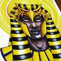 Check out this @Behance project: \u201cEgyptian Gods | Deuses Egípcios\u201d https://www.behance.net/gallery/48078589/Egyptian-Gods-Deuses-Egipcios