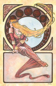 Art Nouveau 12 by ssava.deviantart.com on @deviantART