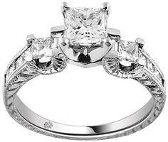 Diamond #Engagement #Ring wedding-stuff