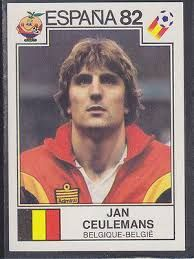 Image result for espana 82 panini belgique meeuws