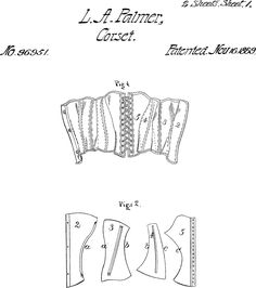 CREA MODA- CORSETTI,BUSTIER,ABITI,GONNE: Cartamodello corsetto vittoriano (Victorian Corset pattern, no instructions or measurements)