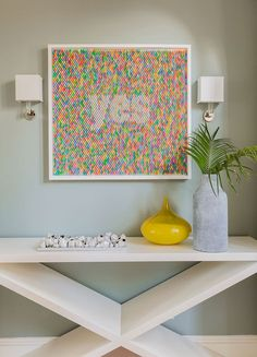 """Boston-based interior designer Jennifer Palumbo is known for her sophisticated use of color and texture, as well as """"one of a kind"""" interiors that reflect her clients' style personality. In the case o"""
