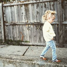 Sweater by Gap Kids | Jeans by Love Sick Threads
