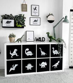 Toddler Boy Room Decor, Toddler Playroom, Boys Room Decor, Kids Bedroom Organization, Sister Room, Dinosaur Bedroom, Minimalist Baby, Dinosaur Crafts, Nurseries