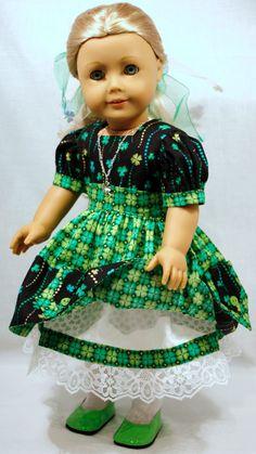 American Girl/18 Inch Doll Clothing St. by AuroraandLuna on Etsy