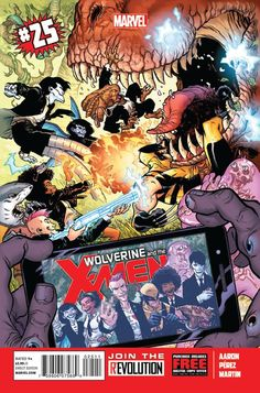 Wolverine and the X-Men #25 - (comic book issue) - Comic Vine
