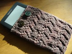 Kindle Ereader Cover Covered in Cocoa