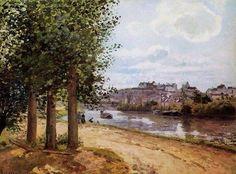 Camille Pissarro (1830-1903) - Paintings I love