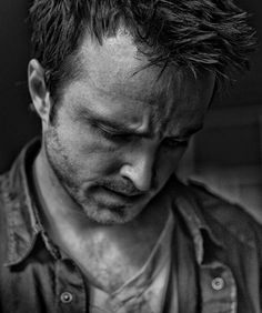 Aaron Paul - this would be so cool as a graphite piece