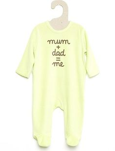 07625cb514 KIABI - pigiama in ciniglia giallo taglia 3 mesi 4,99 € Pigiama, Neonato