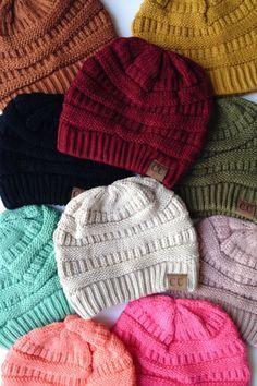 6b93f203077 CC Knit Beanie (13 colors)