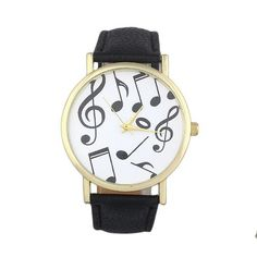 Cheap montre fashion, Buy Quality montre femme directly from China montre casual femme Suppliers: Creative Fashion Watch Women Casual Musical Notes Women Men Leather Band Analog Quartz Watches bayan kol saati montre femme Trendy Watches, Mens Watches For Sale, Casual Watches, Women's Dress Watches, Women's Watches, Ladies Watches, Wrist Watches, Cheap Watches, Watches Online