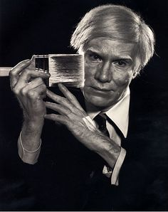 Warhol by Arnold Newman