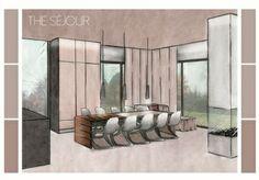 Marker render of my Mr & Mrs Smith projet - Alex Goldsworthy