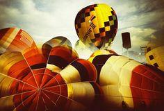 International Balloon Festival in Saga, Japan
