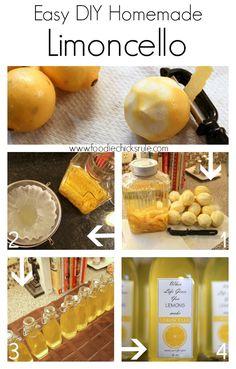 Limoncello Recipe | Limoncello, Homemade and Limoncello Recipe