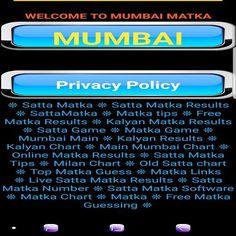 Abiding Satta Matka Kalyan Mumbai Mix Chart Satta Matka Kalyan Main Matka in 2020 Main Mumbai, Today Tips, Play Online, Chart, Website, Diy, Bricolage, Do It Yourself, Homemade