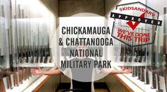 Chickamauga and Chattanooga National Military Park and Battlefields - Georgia #5kidsandarv #history #civilwar #battlefield #memorial #veteransday #memorialday