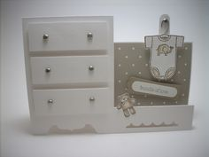 baby dresser card; original design -  http://jackietopa.typepad.com/addicted_to_stamping/2010/07/side-step-dresser-tutorial.html
